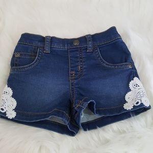 ⭐2/$20 Wonder Nation Baby Girl Shorts
